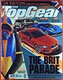 BBC TopGear, UK Edition, February 2015, Jaguar XE Driven - Ford Focus St TDCi - Ford GT...